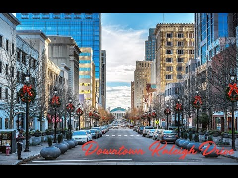 Downtown Raleigh NC Drive (2018)