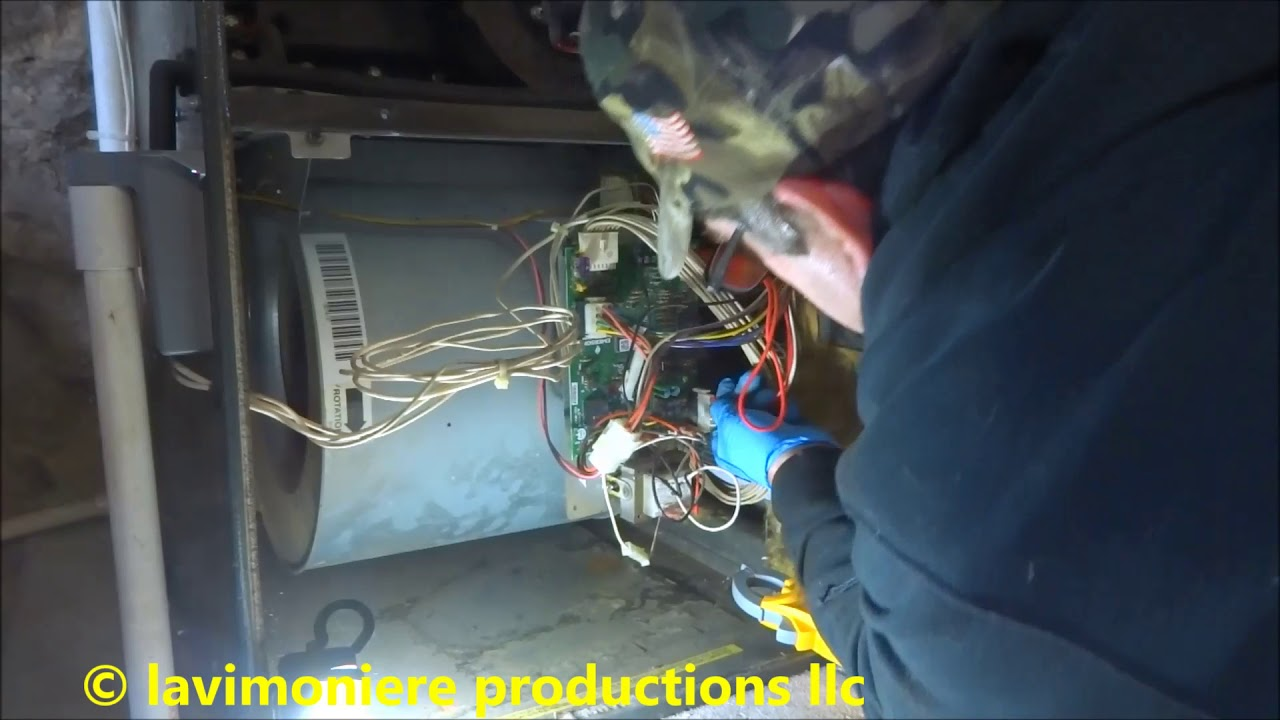 amana 90 gas furnace no heat call [ 1280 x 720 Pixel ]