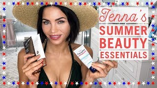 4th of July Edition! Jenna's Summer Essentials | Beauty Products | Jenna Dewan