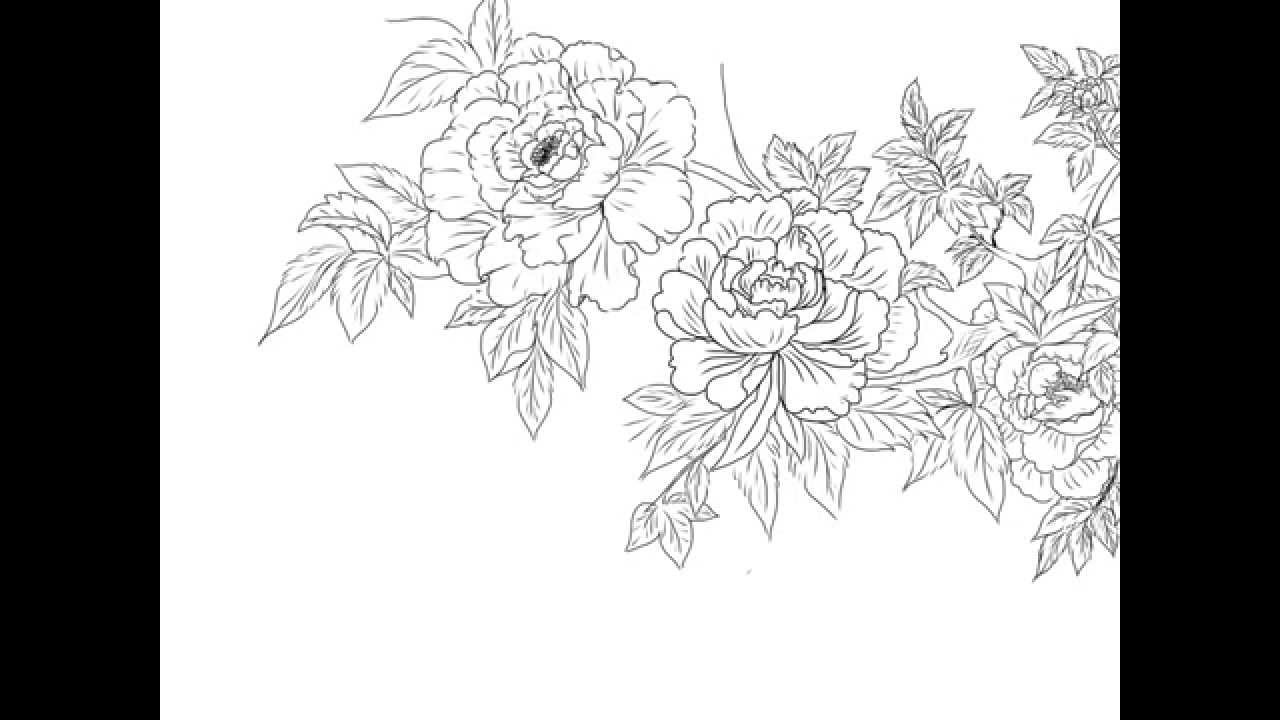 Drawing Flower  How To Draw Flower  Manga