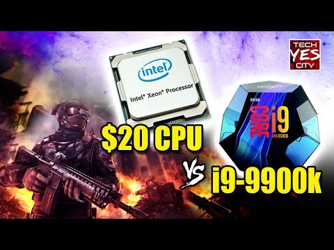 Can a $20 X58 6 Core XEON Compete Vs. a i9-9900k in Gaming...?!
