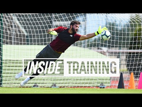 Inside Training: Action-packed first session for Alisson | G