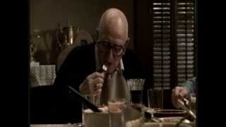 A funny conversation between Tony and Junior Soprano.