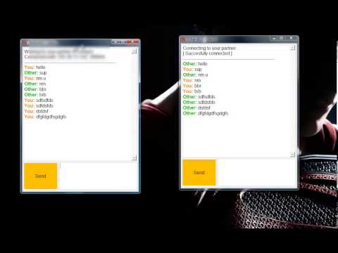 Python Tutorial: Making A Chat Program With Graphical User Interface