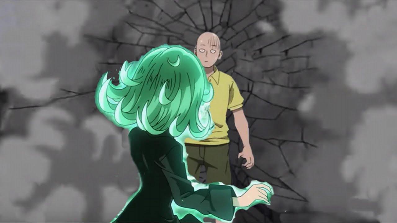 Saitama vs Tatsumaki (Tornado) Parte 3 One Punch Man ...