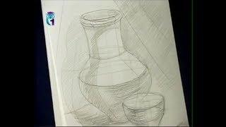 Уроки рисования (№ 3) карандашом. Рисуем предмет быта(Передача
