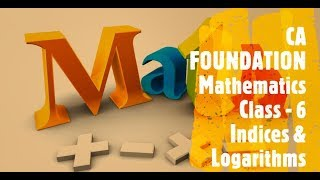 CA FOUNDATION - Business Mathematics and LR & Statistics - Chapter 1 Ratio and Proportion Class 6