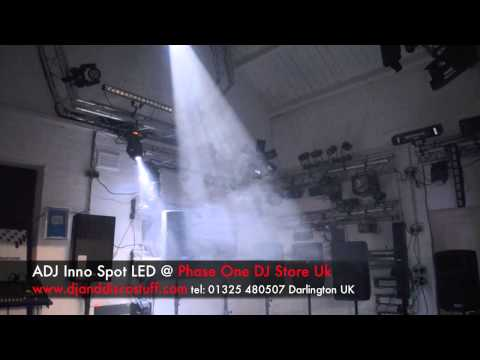 American DJ  INNO SPOT Video Review @ Phase One DJ Store
