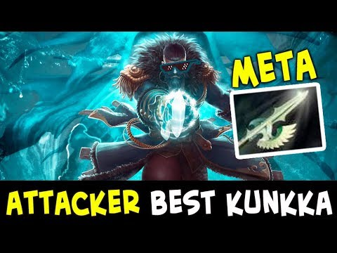 Attacker META — best Kunkka fast Heaven's Halberd