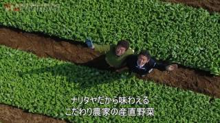 ナリタヤやさい 千葉県香取郡東庄町・岡野均さんのかぶ