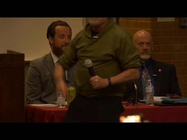 Trailer: Atheist vs Christian Debate (behind the scenes)