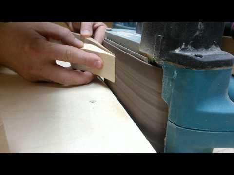 Making transparent end of bow riser