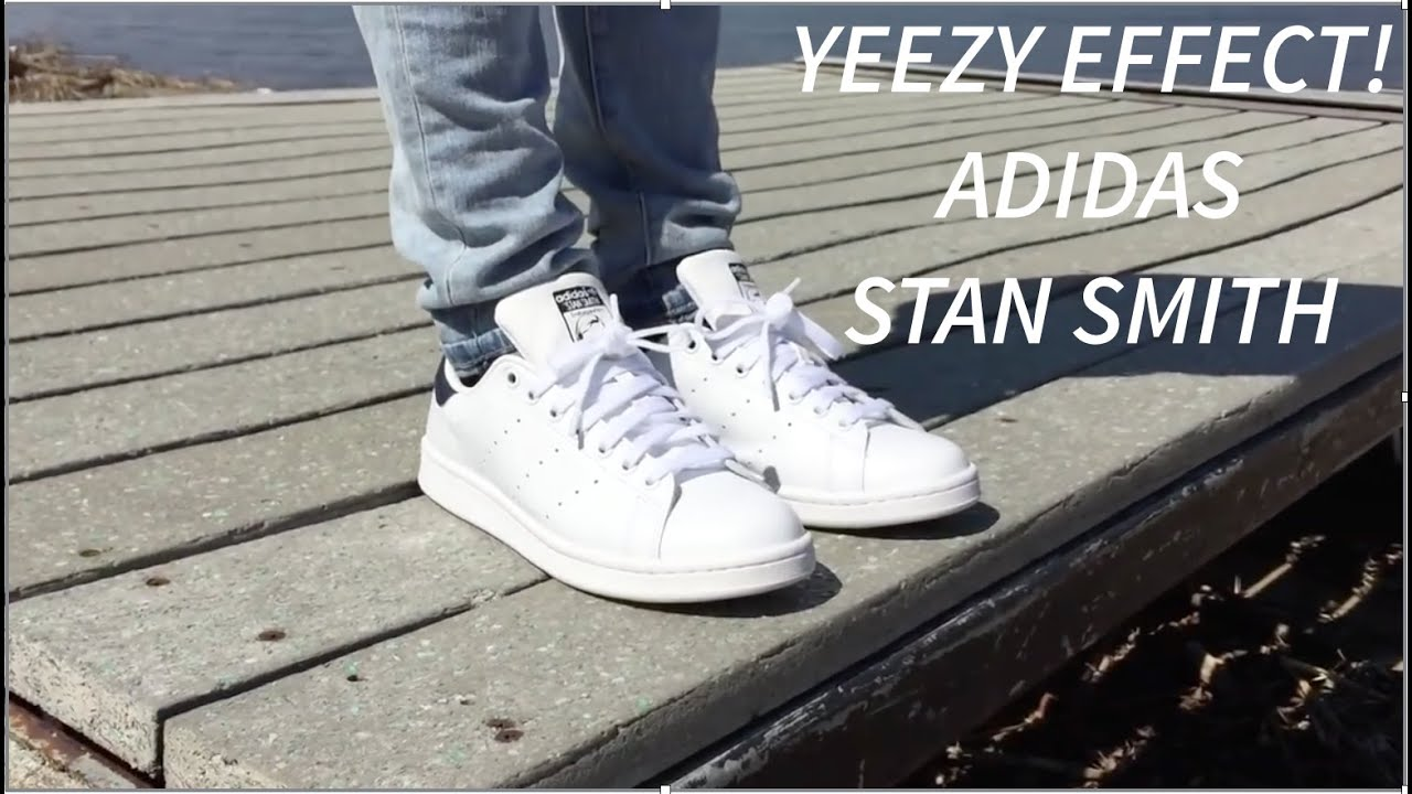 YEEZY EFFECT?? Adidas Stan Smith On Feet and In Depth Look!!