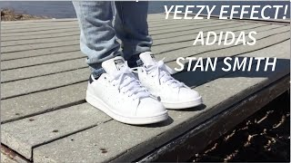 YEEZY EFFECT?? Adidas Stan Smith On-Feet and In Depth Look!!