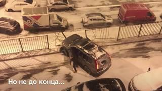 Пьяный Водитель разносит машины в Видном