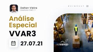 Análise Especial   Ações da Via (VVAR3) - De olho na compra ao retornar para cima dos 14