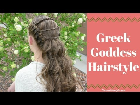 Greek Goddess Ladder Braid | Wedding and Prom Hairstyles