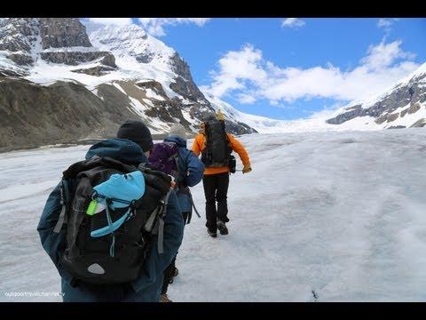 Athabasca Glacier icewalk