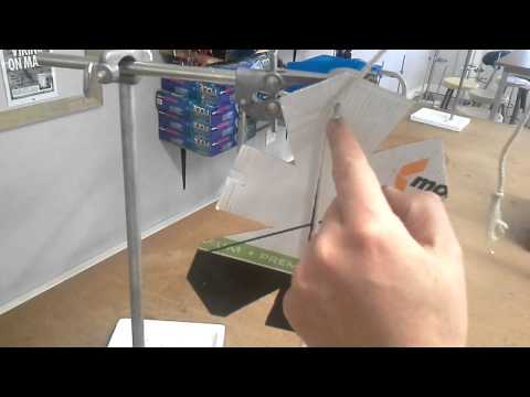 Centre of Mass Experiment - IGCSE Physics