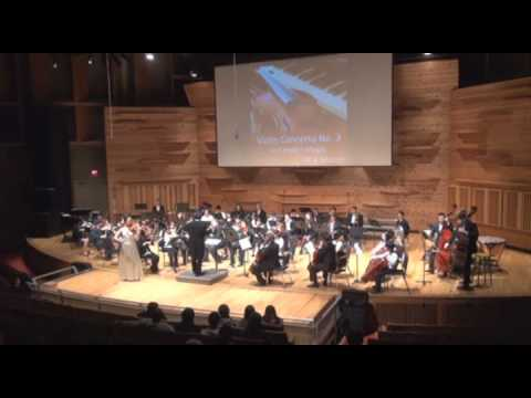 02. Violin Concerto No.3 by W.A. Mozart - The 4th 5 Loaves and 2 Fish Orchestra Benefit Concert 2012