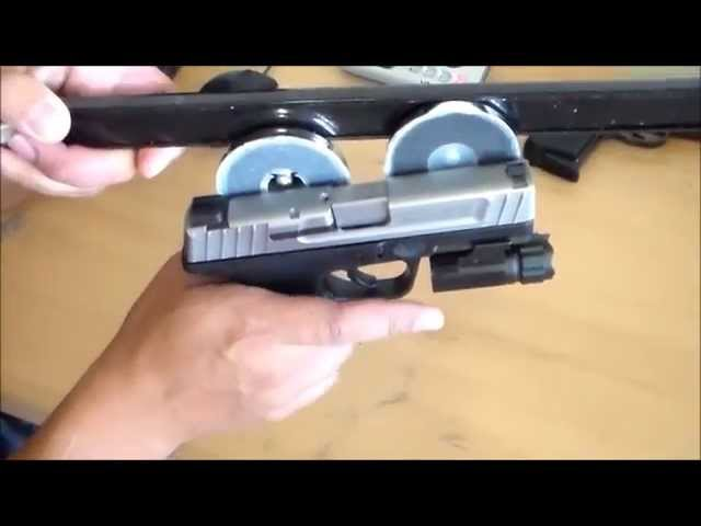 HIDE YOUR GUNS  USING MAGNETS