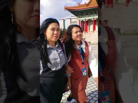 TKI TAIWAN HOLIDAY IN CHIANG KAI SEK TAIPEI TAIWAN 29 OCTOBER 2017