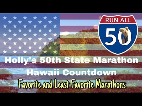 Countdown To Marathon State 50:  Best And Worst Races