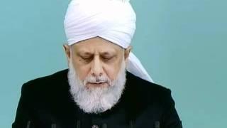 Le Califat et l'avènement des réformateurs (Mujaddidine) en Islam  - sermon du 10 juin 2011