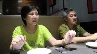 Dinner With The Ngs : Speaking In English, Singlish And Some Cantonese
