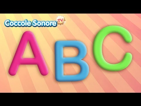 Canzone dell'Alfabeto ABC - Italian Songs for children by Coccole Sonore