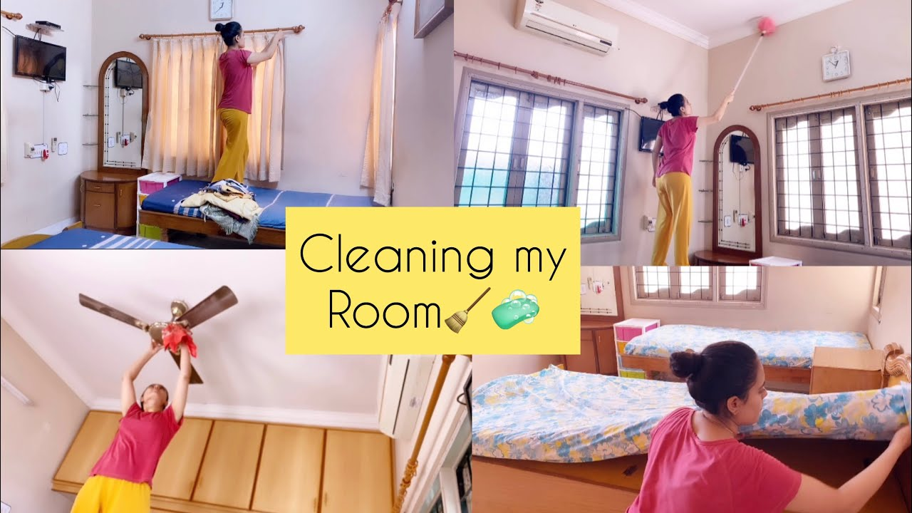 Cleaning My Entire room | Ekta Vedant
