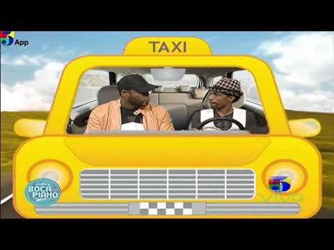 Yiyo Sarante en El Taxi Boca de Piano es un Show