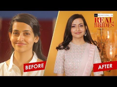 Wedding Reception Look For Indian Bride | Bridal Makeup