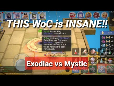 BEST War of Crystals ft. Exodiac vs Mystic - You cannot outplay the GODS!