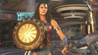 Injustice 2 - Unlocking Wonder Woman Gal Gadot Movie Costume Gears!