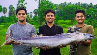 16 KG IKURA FISH DUM BIRYANI | Fish Cutting And Recipe | How To Make Fish Biryani | FOOD4 PEOPLE