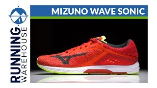 First Look: Mizuno Wave Sonic