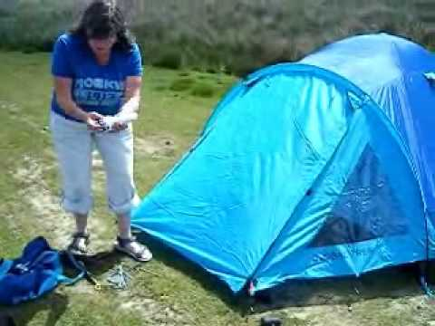 How to erect a tent & How to erect a tent - YouTube