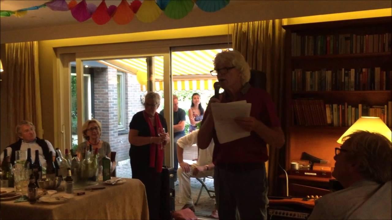 toespraak 40 jarig huwelijk Jan Wijnand @ 40 jarig huwelijk Lex & Eltje in Stadskanaal   YouTube toespraak 40 jarig huwelijk