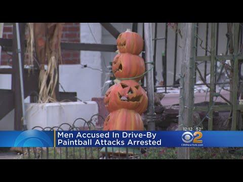 Suspects Held After Queens Paintball Injures Bystanders