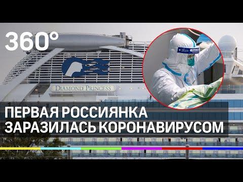 Первая россиянка заразилась коронавирусом