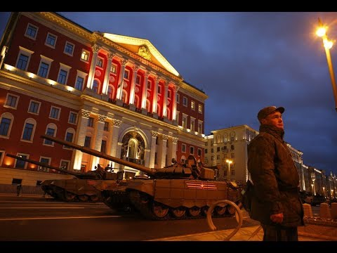 Final rehearsal for 2018 V-Day Parade held in Moscow