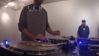 Alex Knox - Turntablist Showcase @Scratch Massive