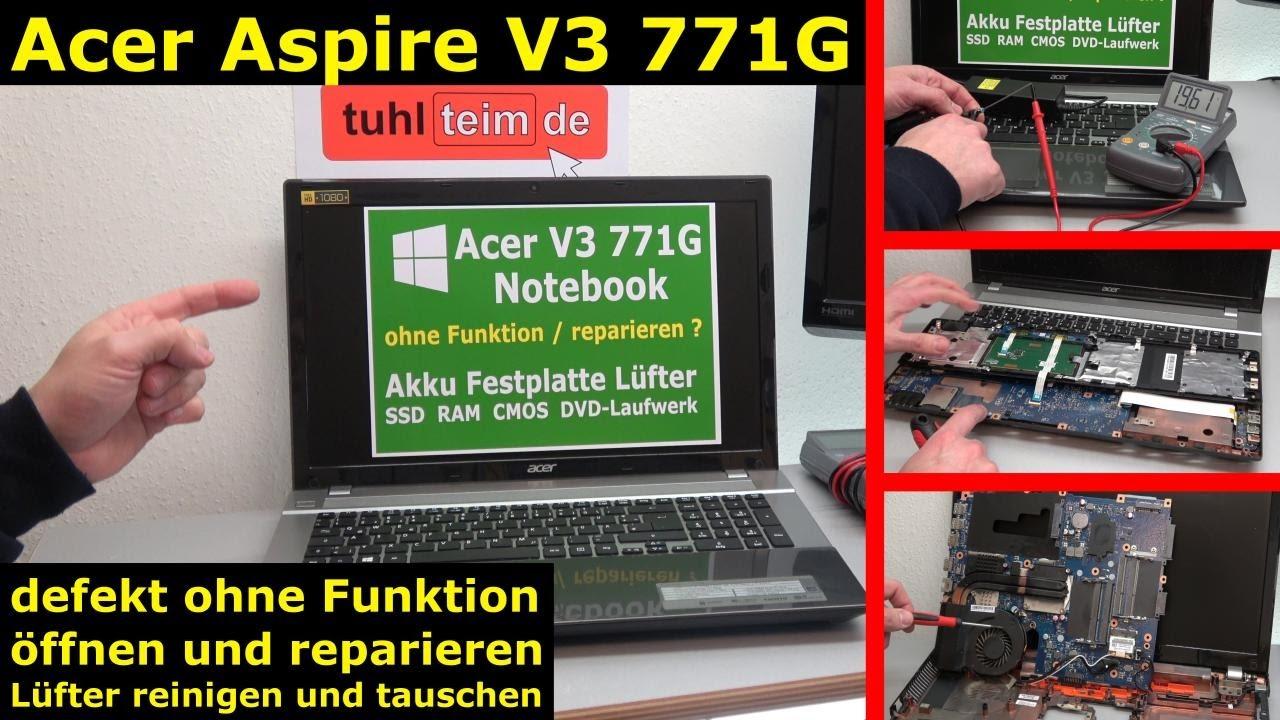 Acer Laptop Lässt Sich Nicht Einschalten