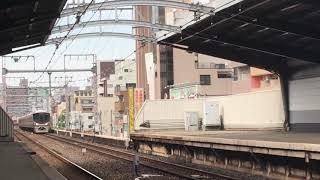 JR西 323系 LS08編成(普通環状線内回り)鶴橋駅 入線‼️