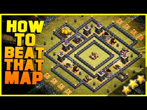 How to 3 Star CROSS AND BOWS with NO CC at TH8, TH9, TH10, TH11, TH12   Clash of Clans New Update