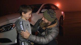 Отжался на Mercedes: мальчик получил подарок от Кадырова за рекордную любовь к спорту