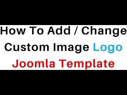 Joomla (Version : 3.8.1 2.5.28) Header Image Web Page Logo Add
