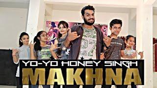 Yo Yo Honey Singh : MAKHNA|| Neha kakkar, Singhsta || Dance choreography by @Deepak Ramchandani ||
