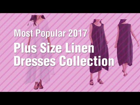 Plus Size Linen Dresses Collection // Most Popular 2017